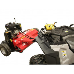 SHARK ATV mulcher with Honda GX 390 engine, black color