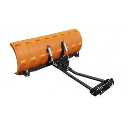 "SHARK Snow Plow 52"" ORANGE (132 cm) with universal adapter"