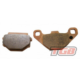 TGB Partnr: 514089 | TGB description: BRAKE PAD TGB rear Target 425, 525, 550, Blade 250, 300, 550, 1000i all models