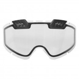 CKX Replacement clear double lens for 210° goggles.
