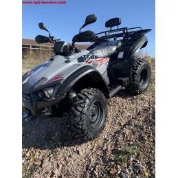 TGB ATV QUAD, modèle Blade 470S, homologation T3b, couleur gris.