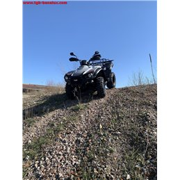 TGB ATV QUAD, model Blade 470S, T3b homologation, color gray.