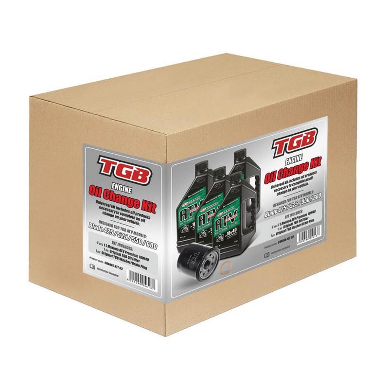 Oil change kit + diff. - TGB Target+Blade 425/525/550/600 (1pc filter, 1pc washer, 5l oil)