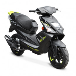 TGB Scooter Bullet 2 stroke injection with Euro 4 standard. Homologated for 2 people.