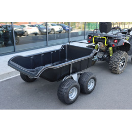 SHARK ATV QUAD Trailer 680Kg with double wheels that can tilt. Affordable top product.