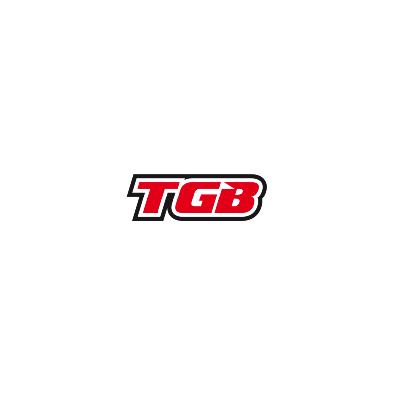 TGB Partnr: 413304FO | TGB description: ABSORBER ASSY, SHOCK, REAR ( FLO.ORANGE )