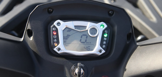 TGB BLADE 1000 display